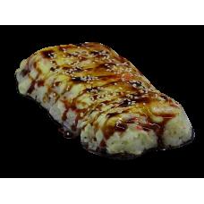 Японская пицца с крабом
